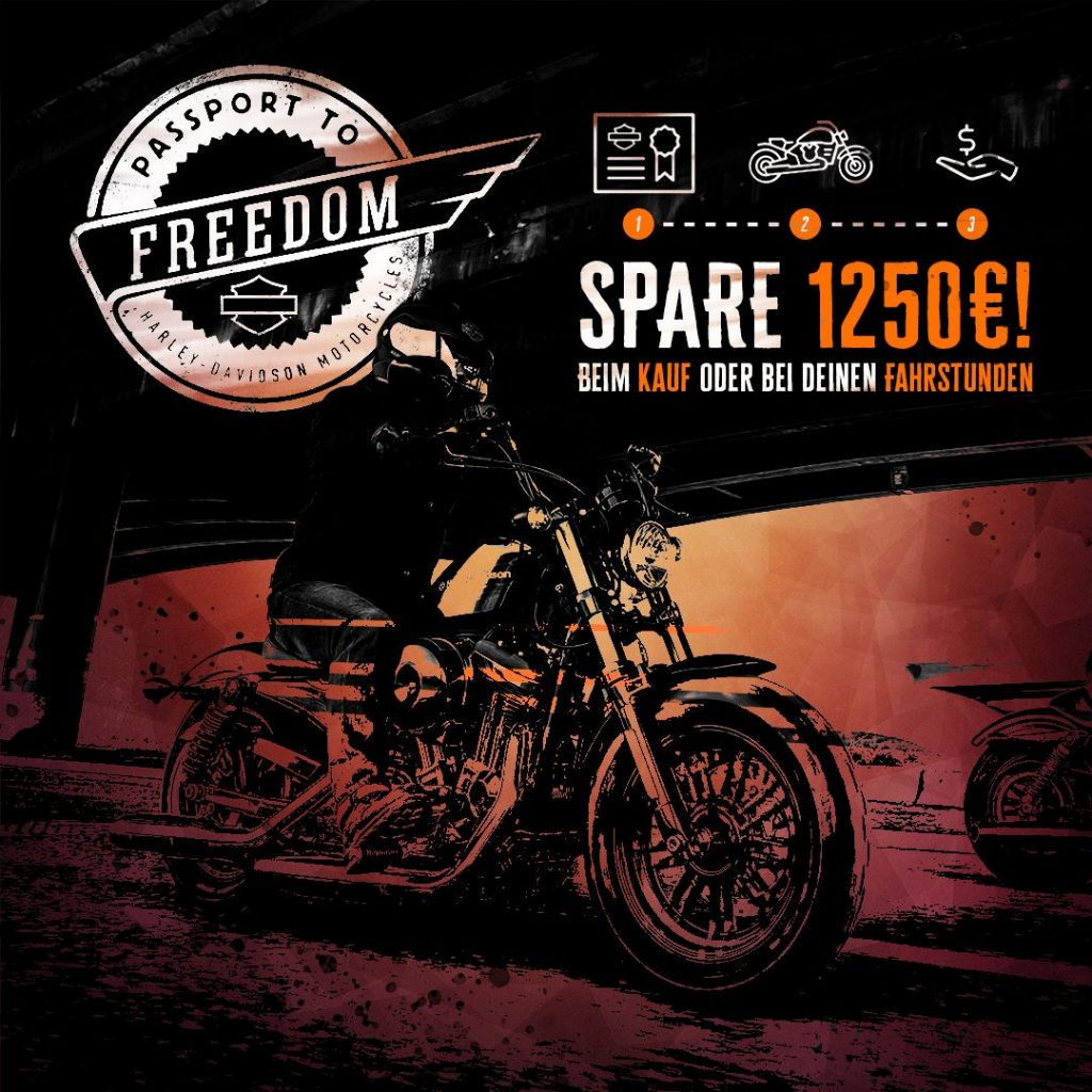 Harley-Davidson Kiel Passport To Freedom